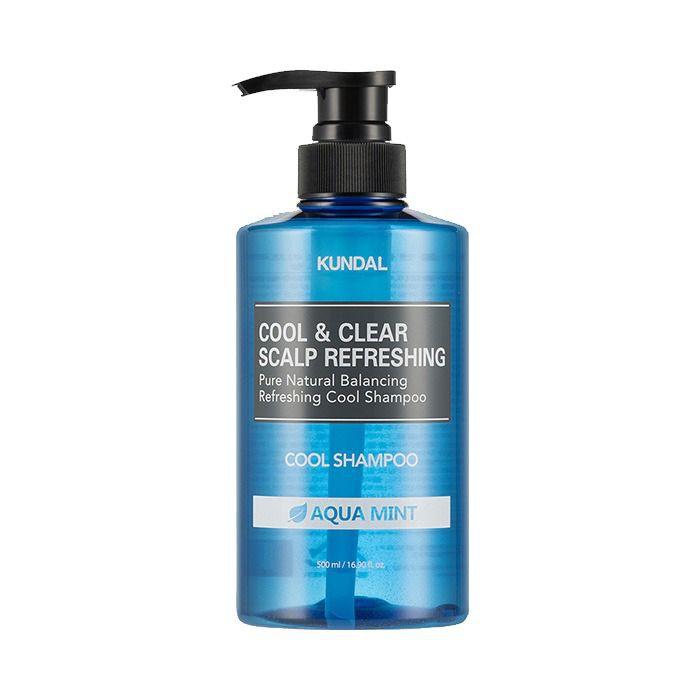 Shampoo refrescante Mentol, Aqua Mint Cool & Clear 500 ml