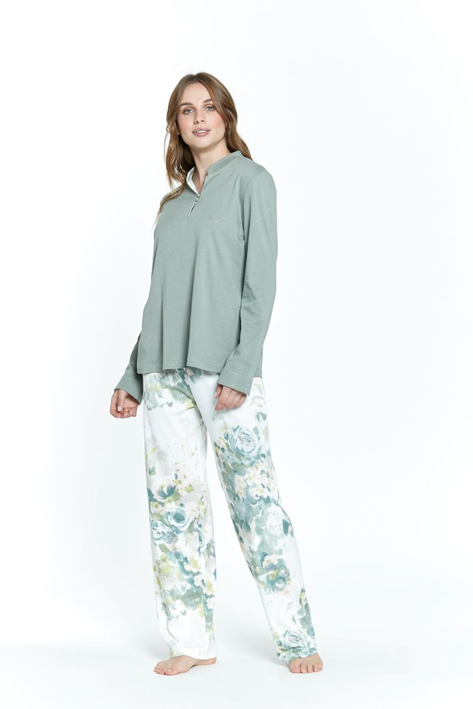 Pijama sofia verde  m M