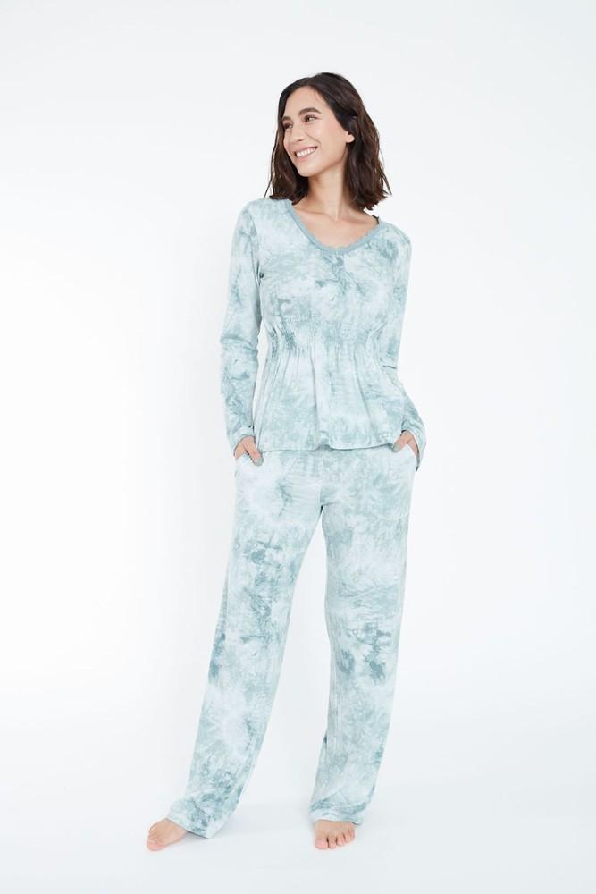 Pijama new cargo verde l L