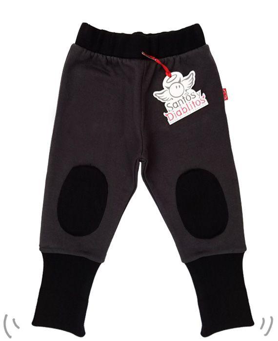 Keeper rodillera gris acero y negro 4-6 años