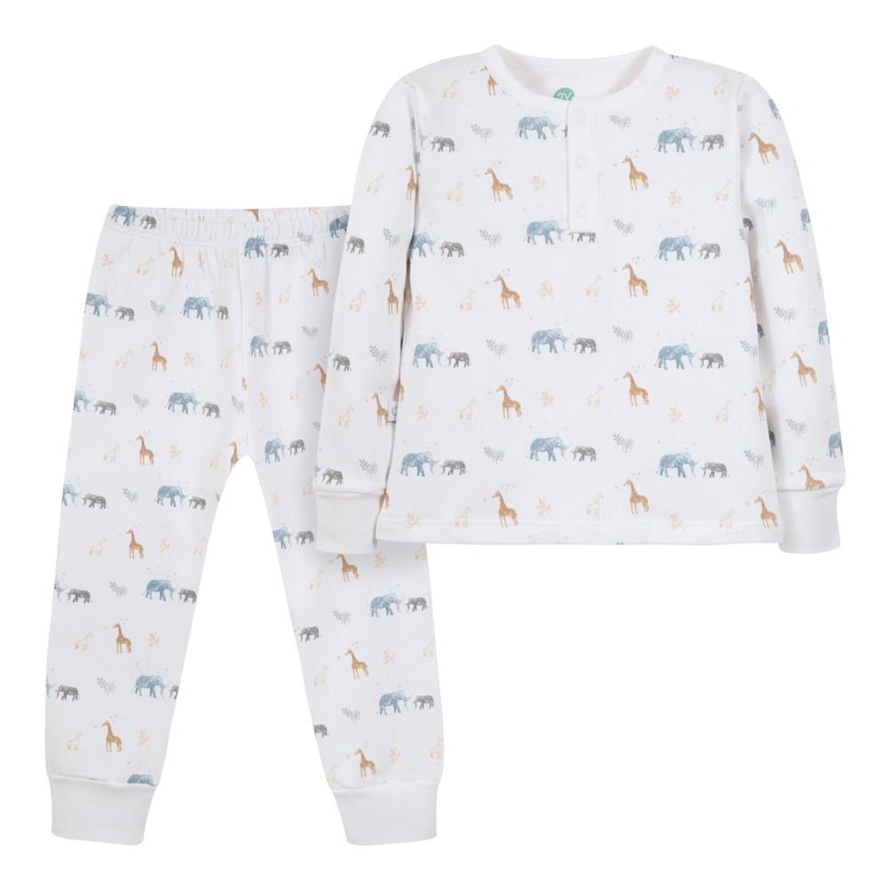 Pijama safari franela Talla 3 años