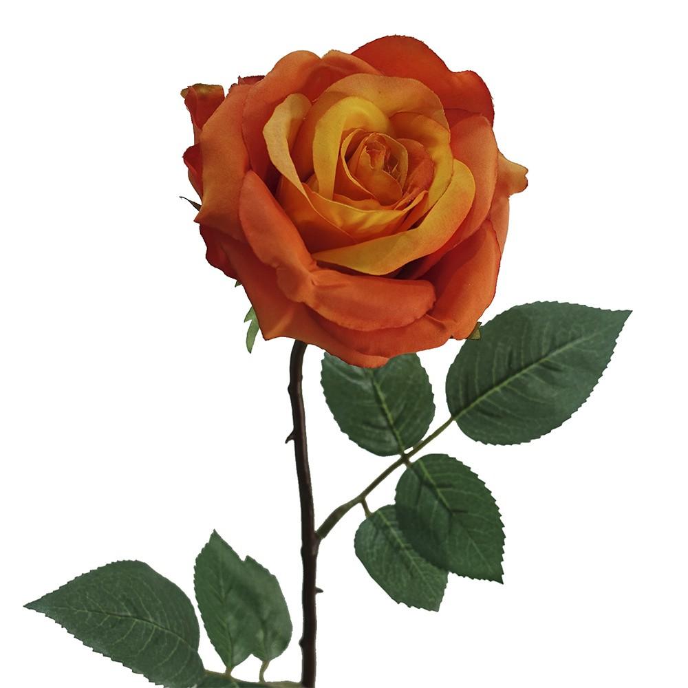 Rosa sara 64cm naranjo