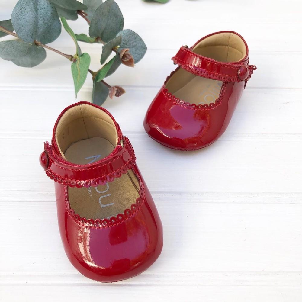 Baby leticia charol rojo