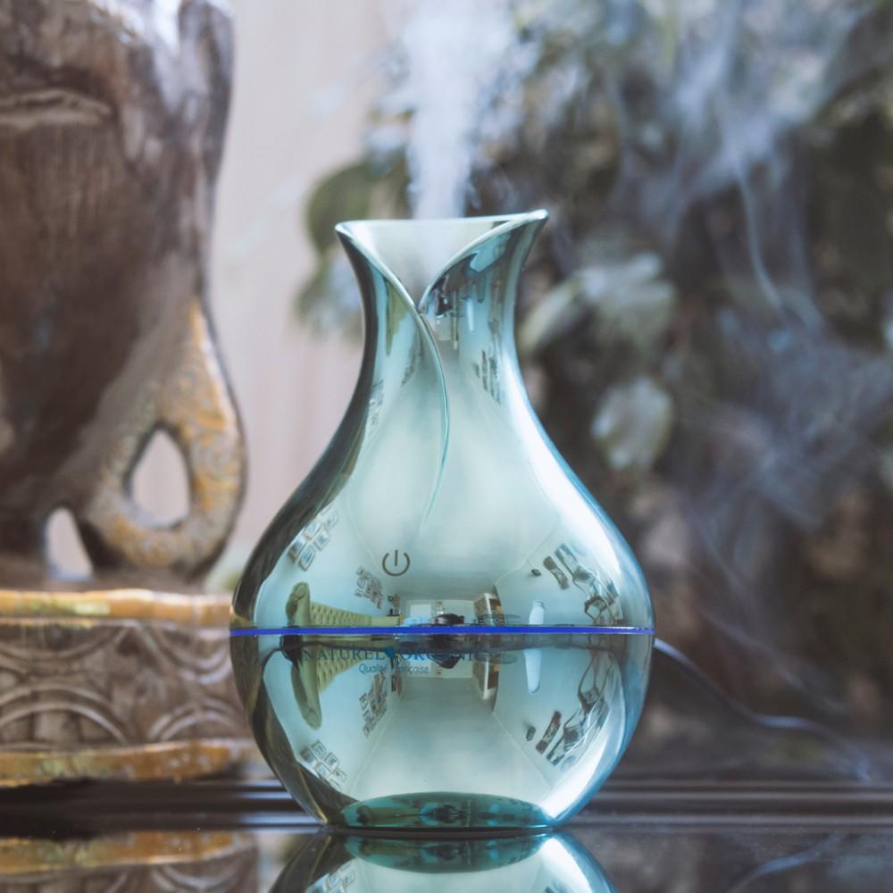 Difusor ecológico aromaterapia eco-esmeralda incluye una sinergia de 10ml de regalo Unidad