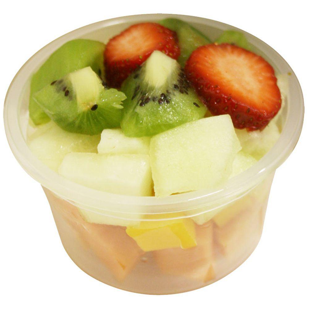 Salada frutas higienizada