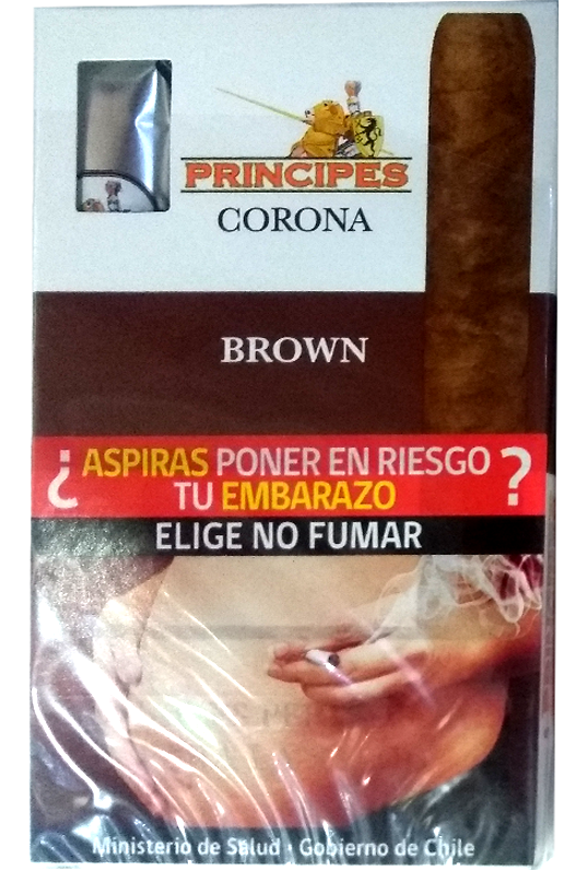 Puros corona chocolate CAJA