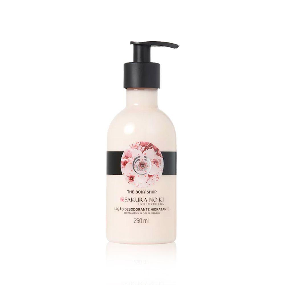 Loção desodorante hidratante sakura no ki 250ml