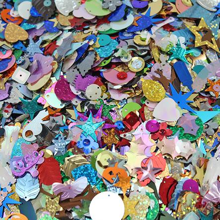 Lentejuela Figuras Surtidas - Multi-Color