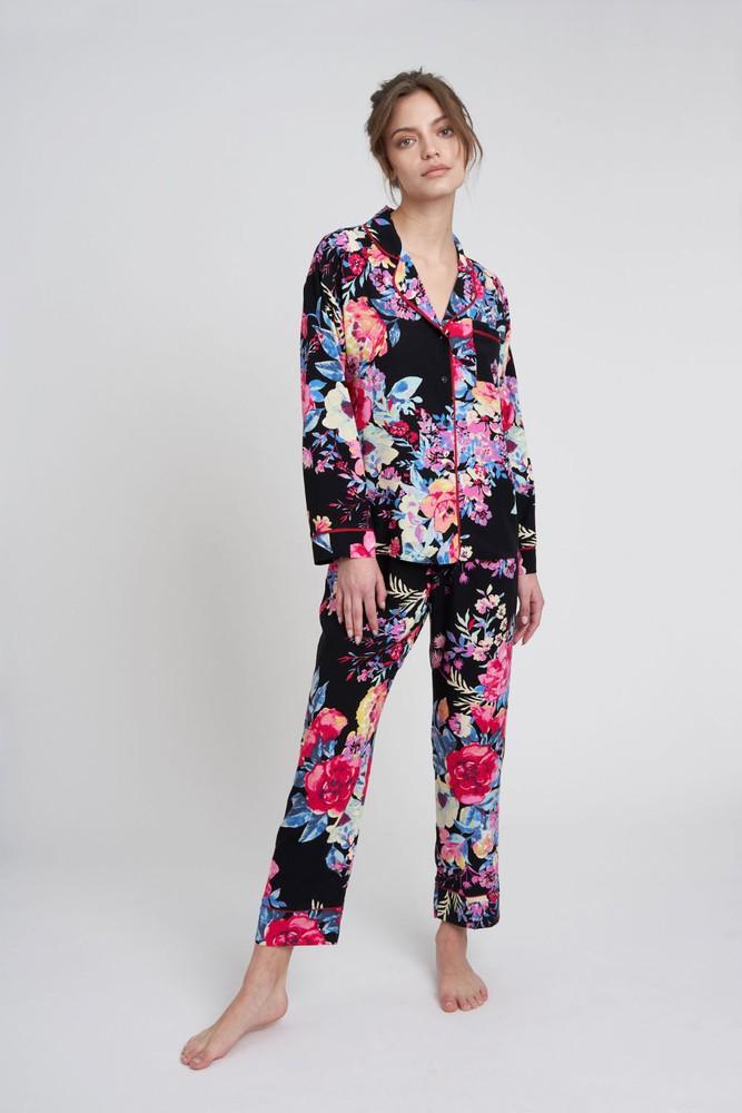 Pijama sofia rosas M