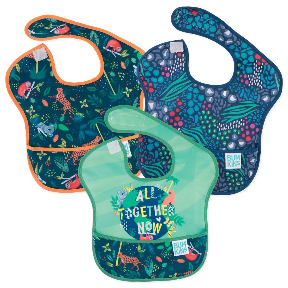 Babero superbib 3 pack all together now