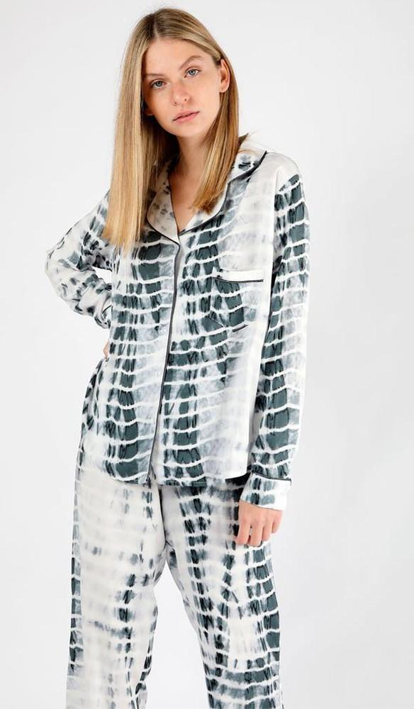 Pijama alessandra tie dye gris L