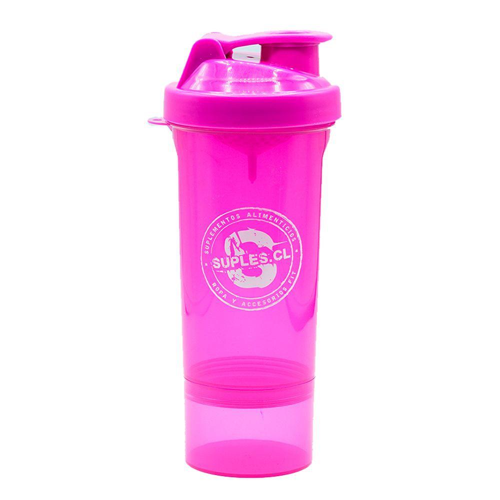 Shaker rosado 3 en 1