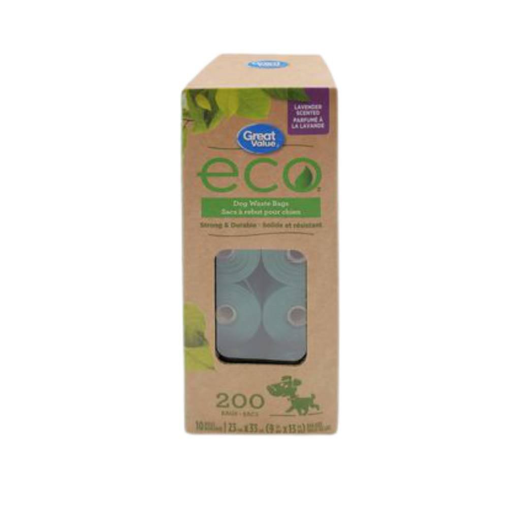 Eco dog waste bags
