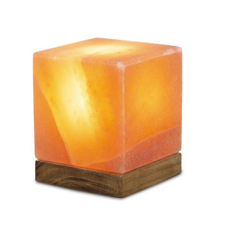 Lámpara de sal rosada del himalaya - cubo 1 unidad