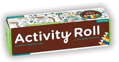 Activity roll - dinosaurios
