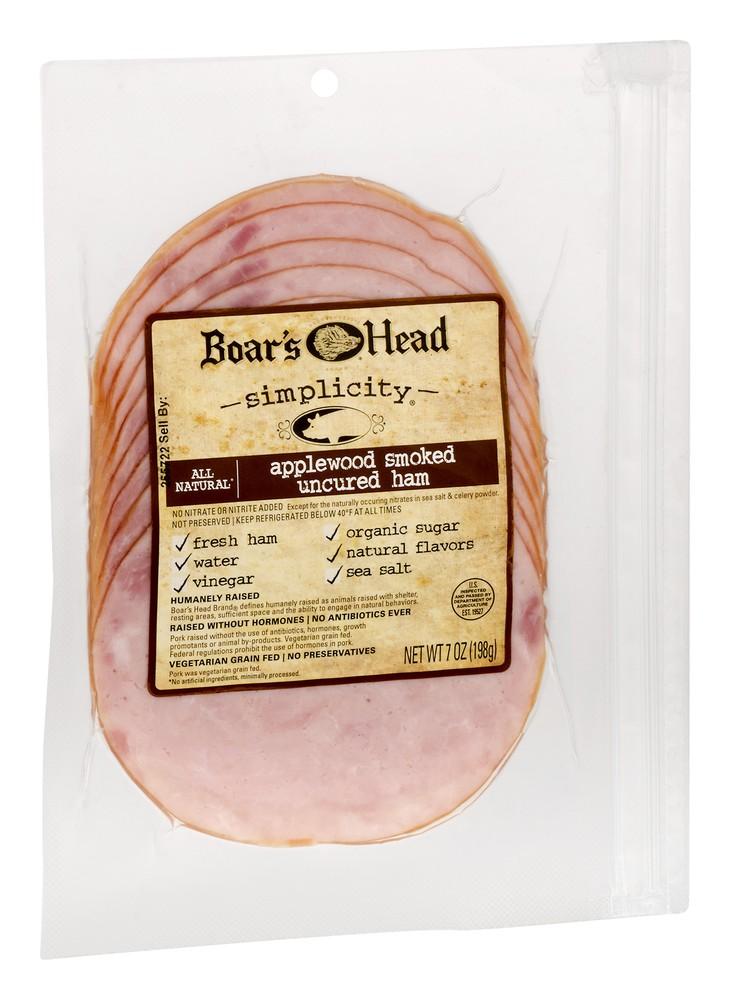 Simplicity Applewood Smoked Uncured Ham