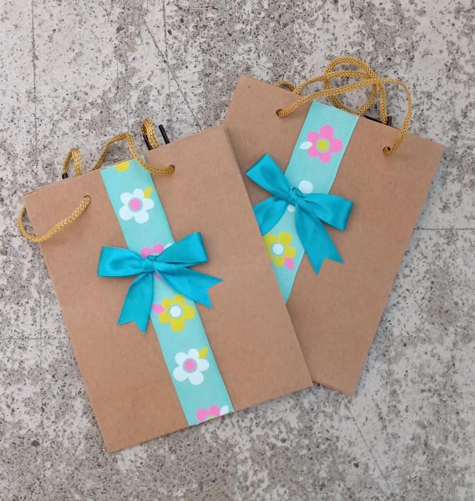 Bolsa para regalo artesanal