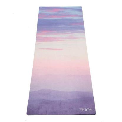 Mat de yoga breathe microfibra