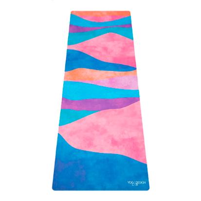 Mat de yoga mexicana microfibra