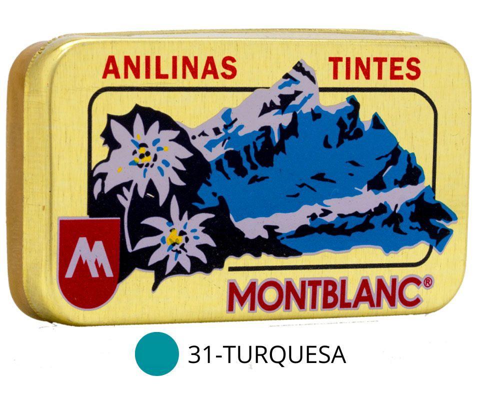 Anilina Montblanc Turquesa - 31