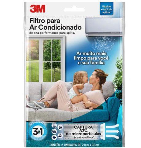 Filtro de ar condicionado Split