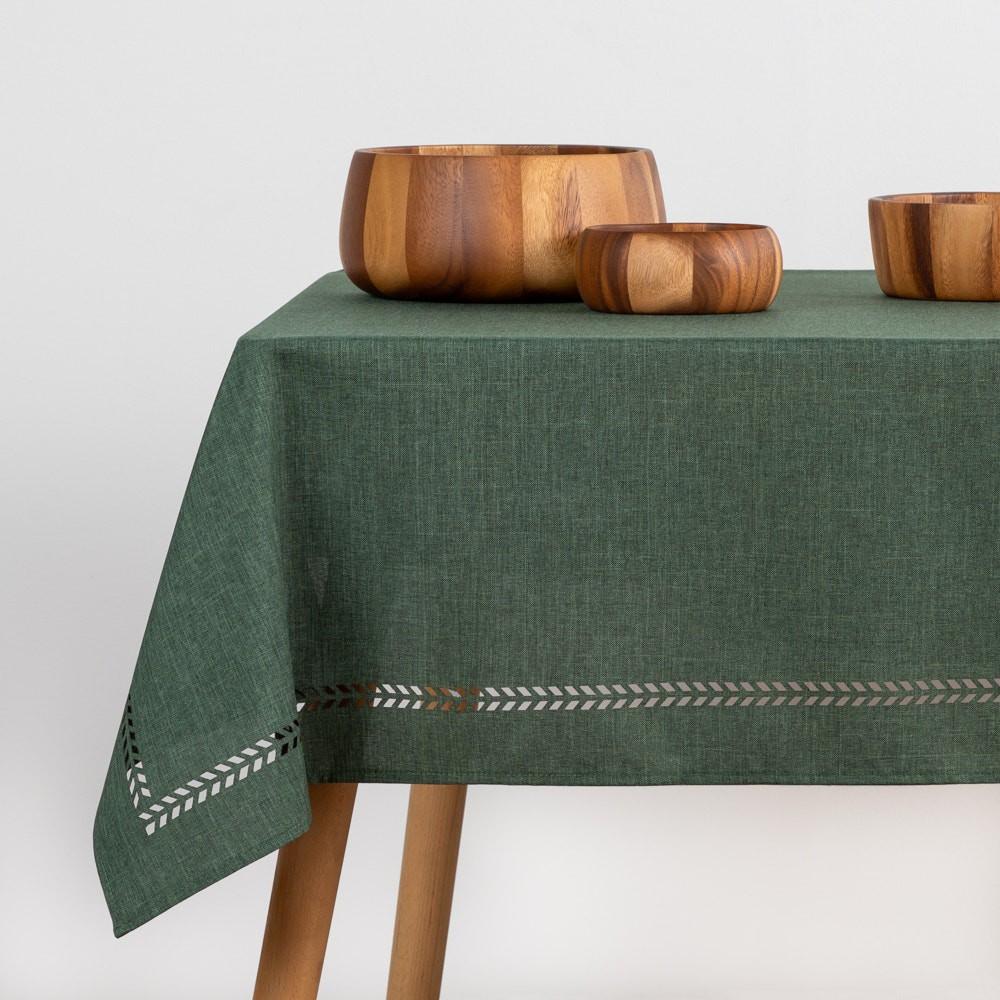 Mantel prepicado verde