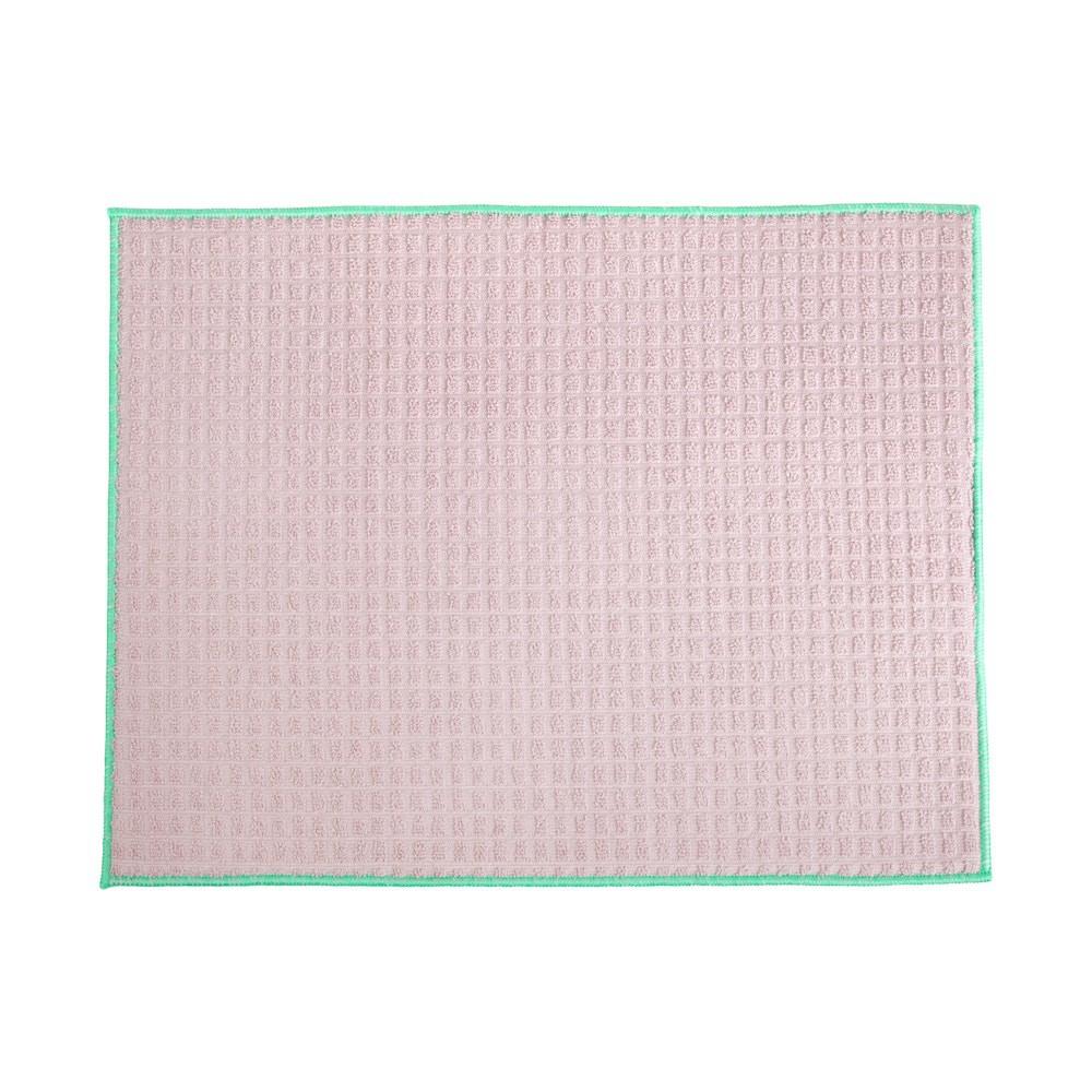 Superficie secavasos de microfibra