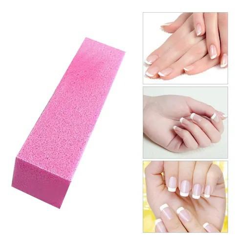 Taco o lima pulidora para uñas