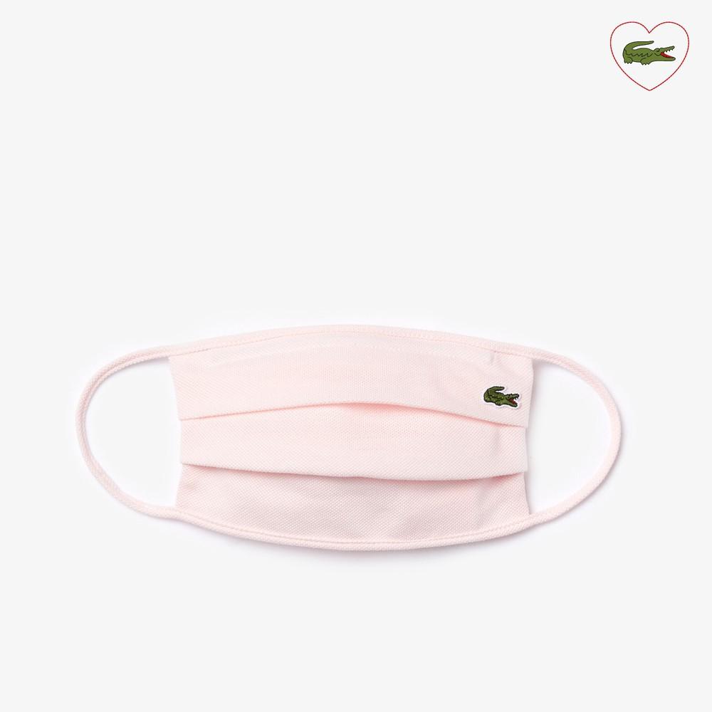 Mascarilla algodón rosa 1 u