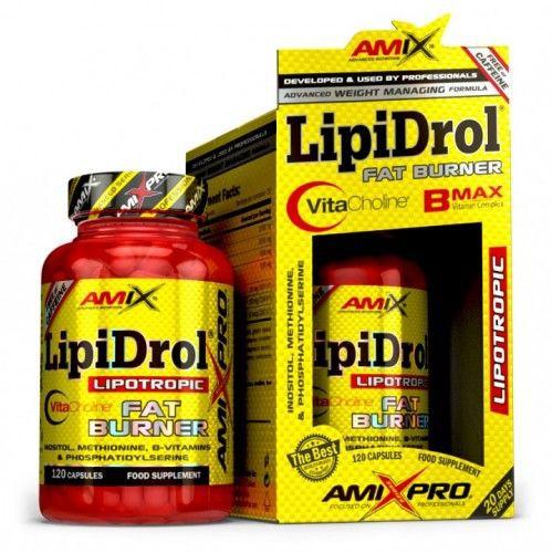 Lipidrol fat burner 120caps Frasco de120 capsulas
