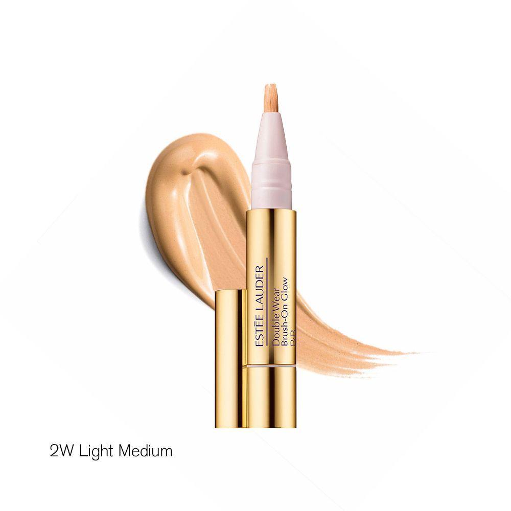 Corrector e Iluminador Double Wear Brush On Glow BB 2W Light Medium 1 unidad