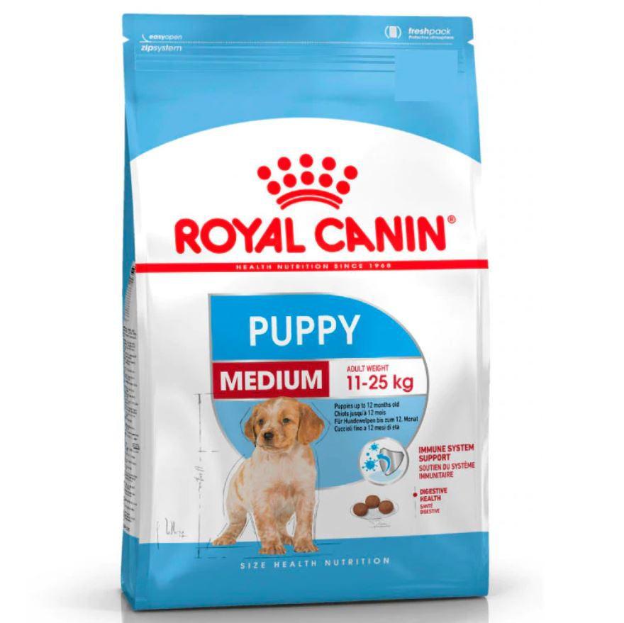 Alimento para cachorro mediano