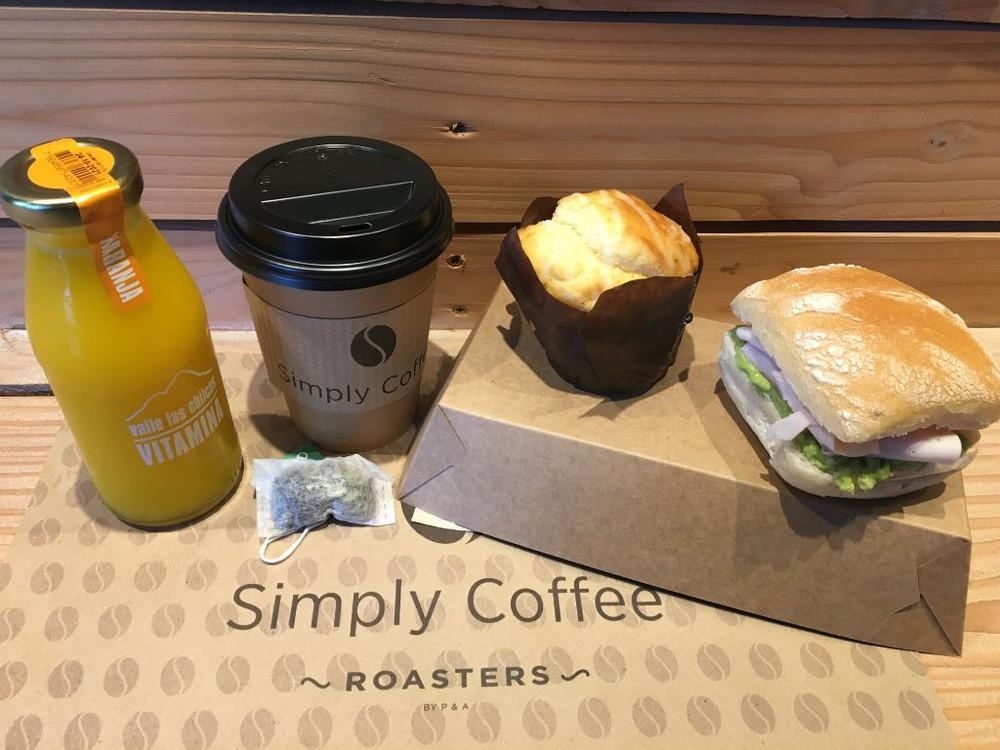 Promo 3 desayuno (solo c/té orgánico) Caja