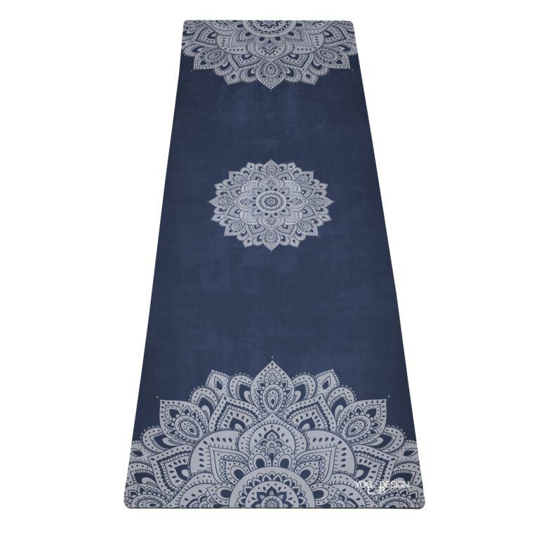Mat de yoga saphire microfibra | liviano