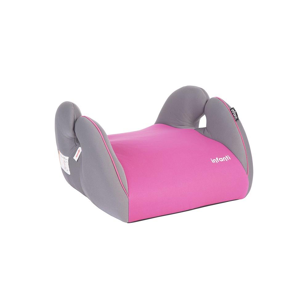 Silla auto alzador conmuter graphite pink