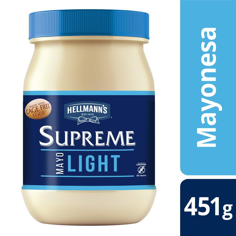 Mayonesa light frasco