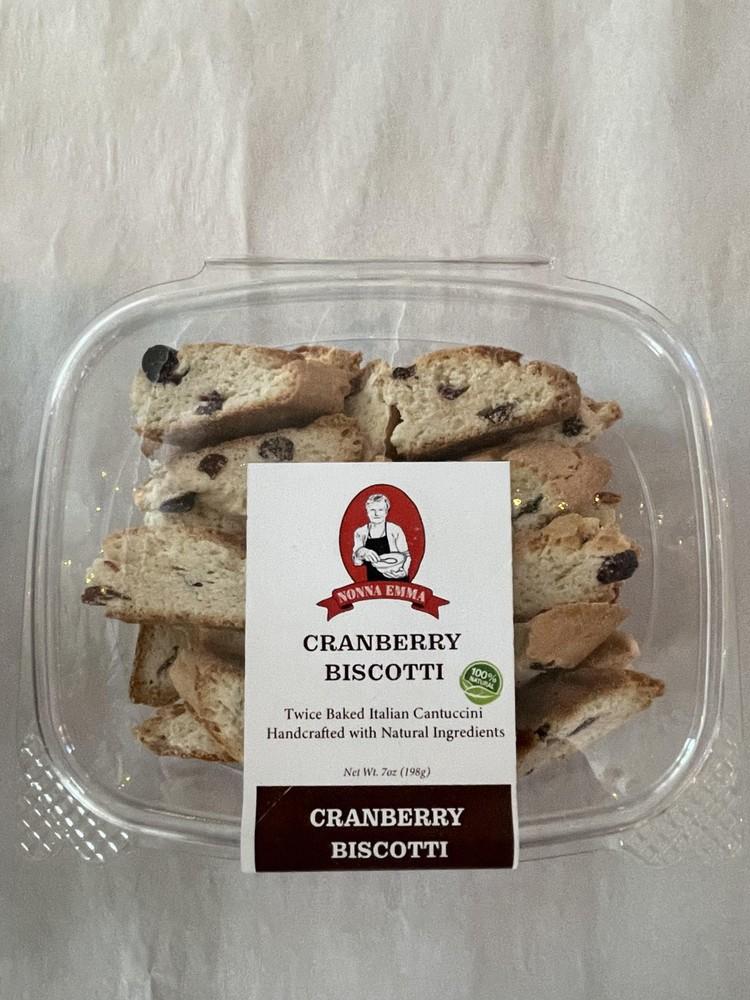 Cranberry biscotti 7 oz