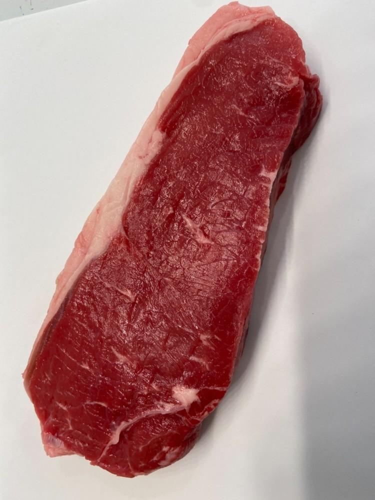 Beef New York striploin steaks
