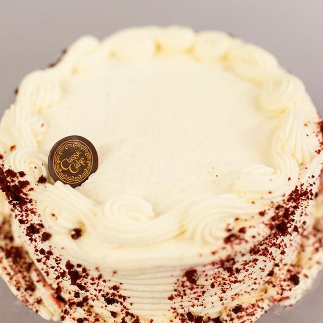 """Red Velvet 7"""" cake"""