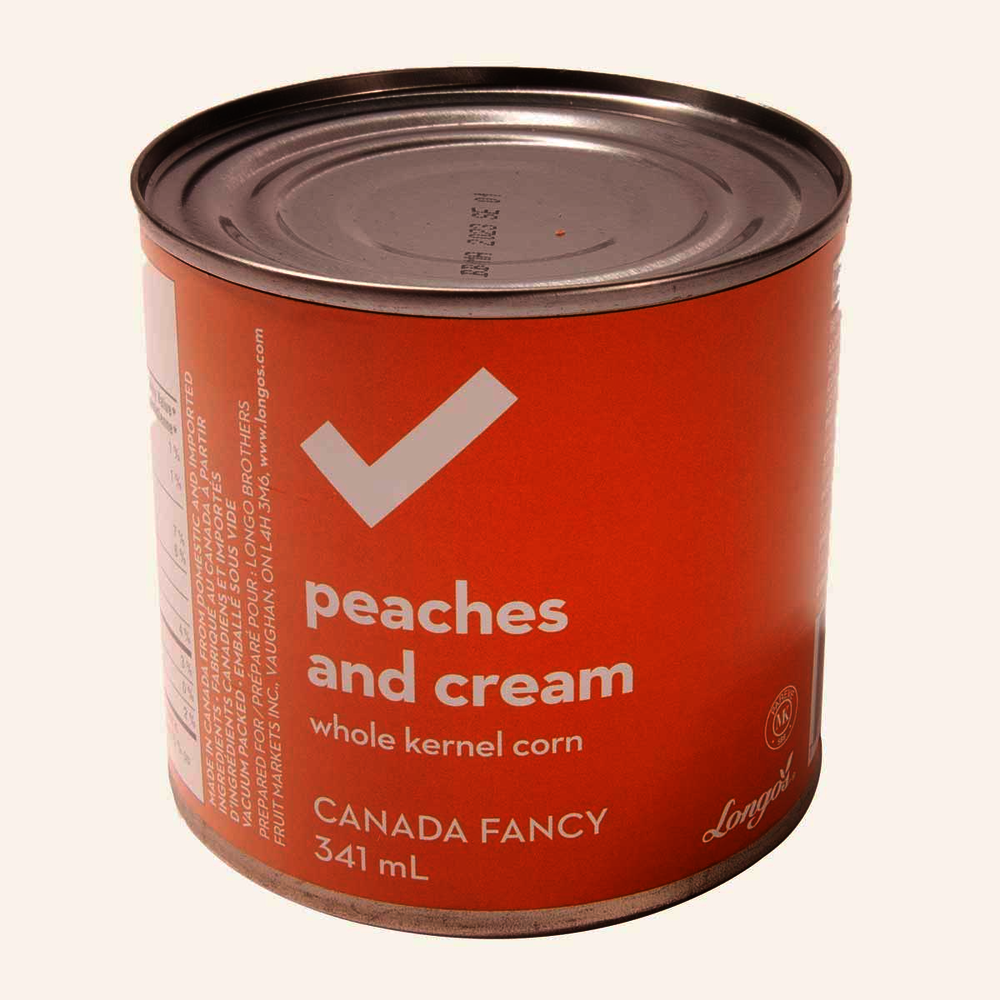 Peaches & Cream Canned Corn
