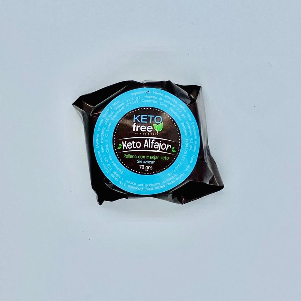 Alfajor keto manjar 70 gr