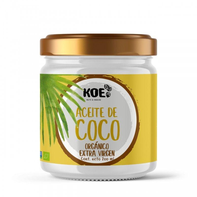 Aceite de coco de 200 grs orgánico