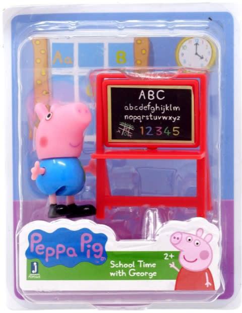Peppa pig figura school time with george
