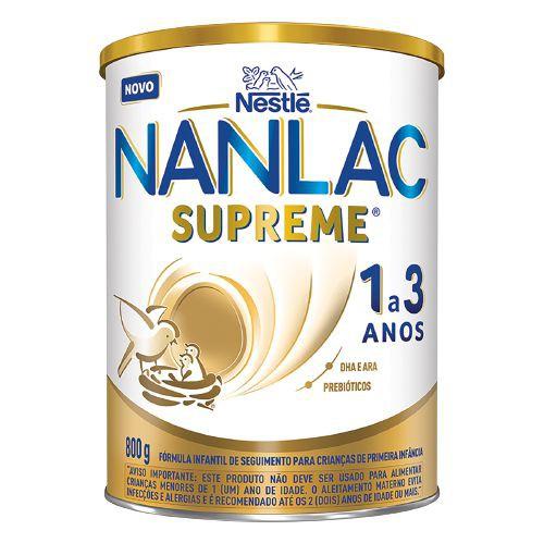 Fórmula infantil NANLAC supreme 1 a 3 anos