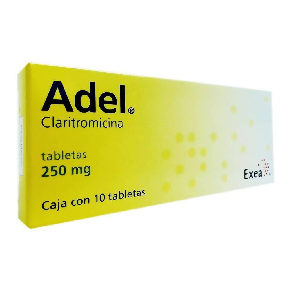 Adel 250 Mg 10 Tabletas A Domicilio Cornershop Mexico