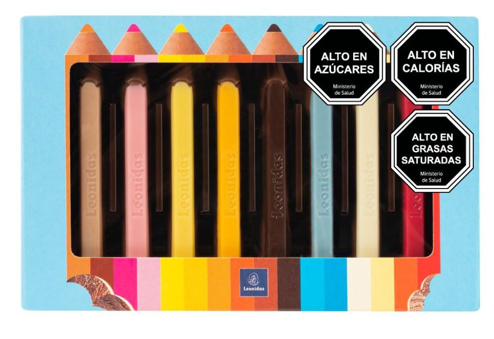 Lápices de Chocolate Caja de 100grs
