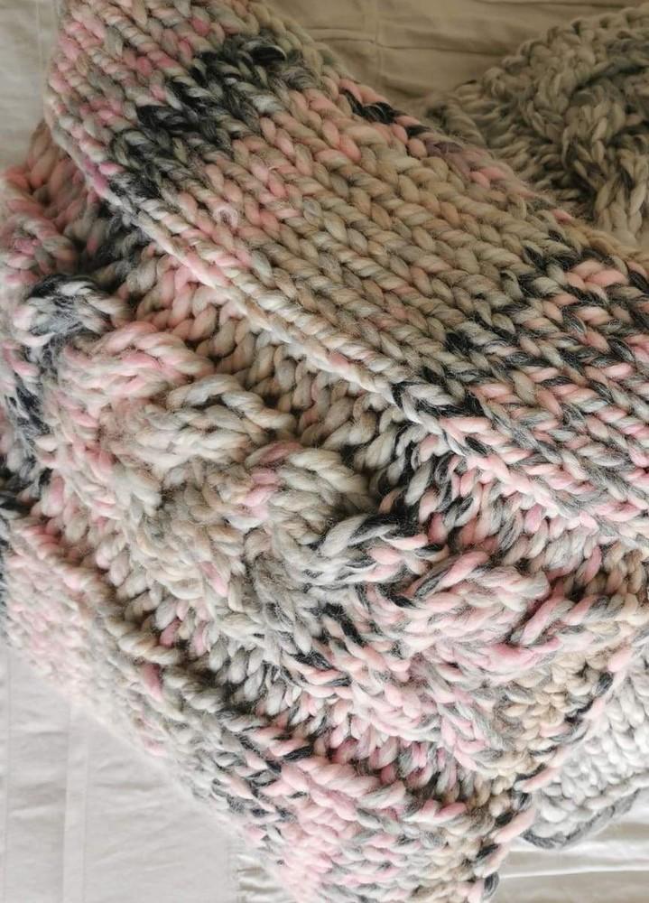 Kit de tejido cojin warmy