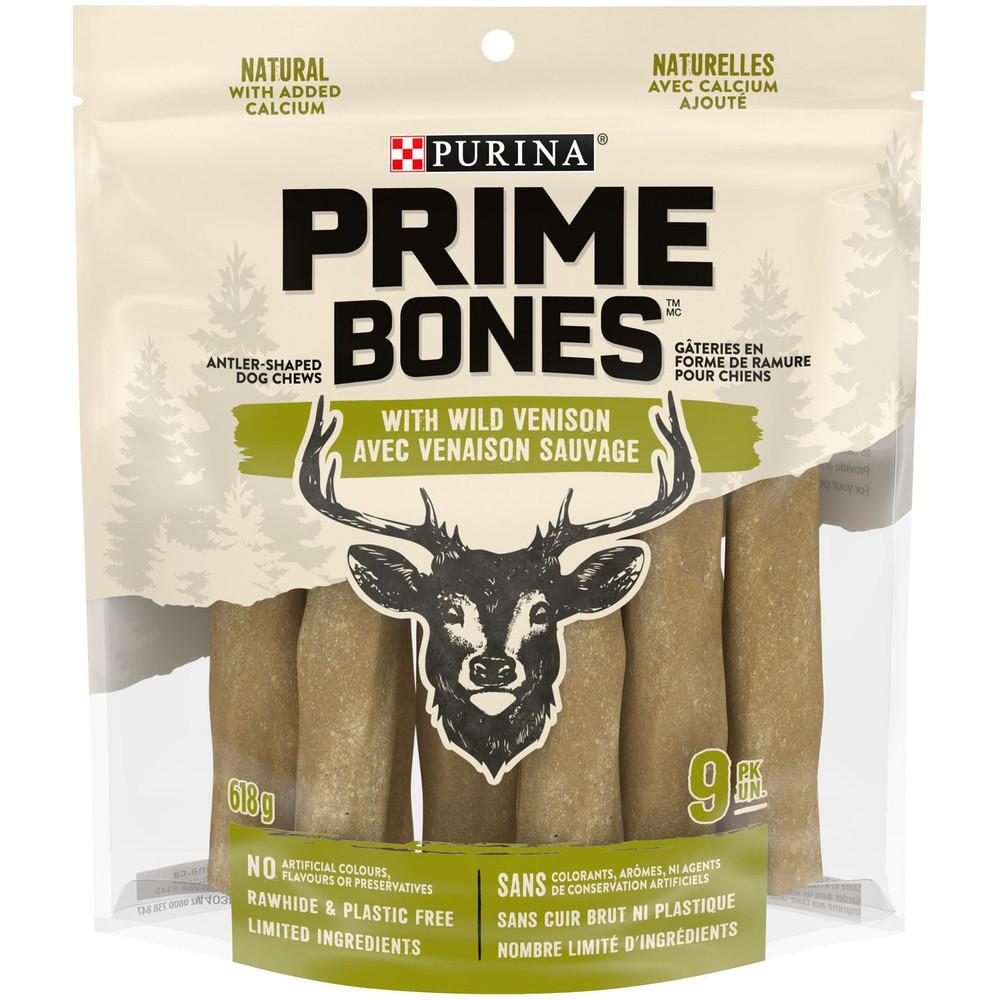 Prime Bones with wild venison chews
