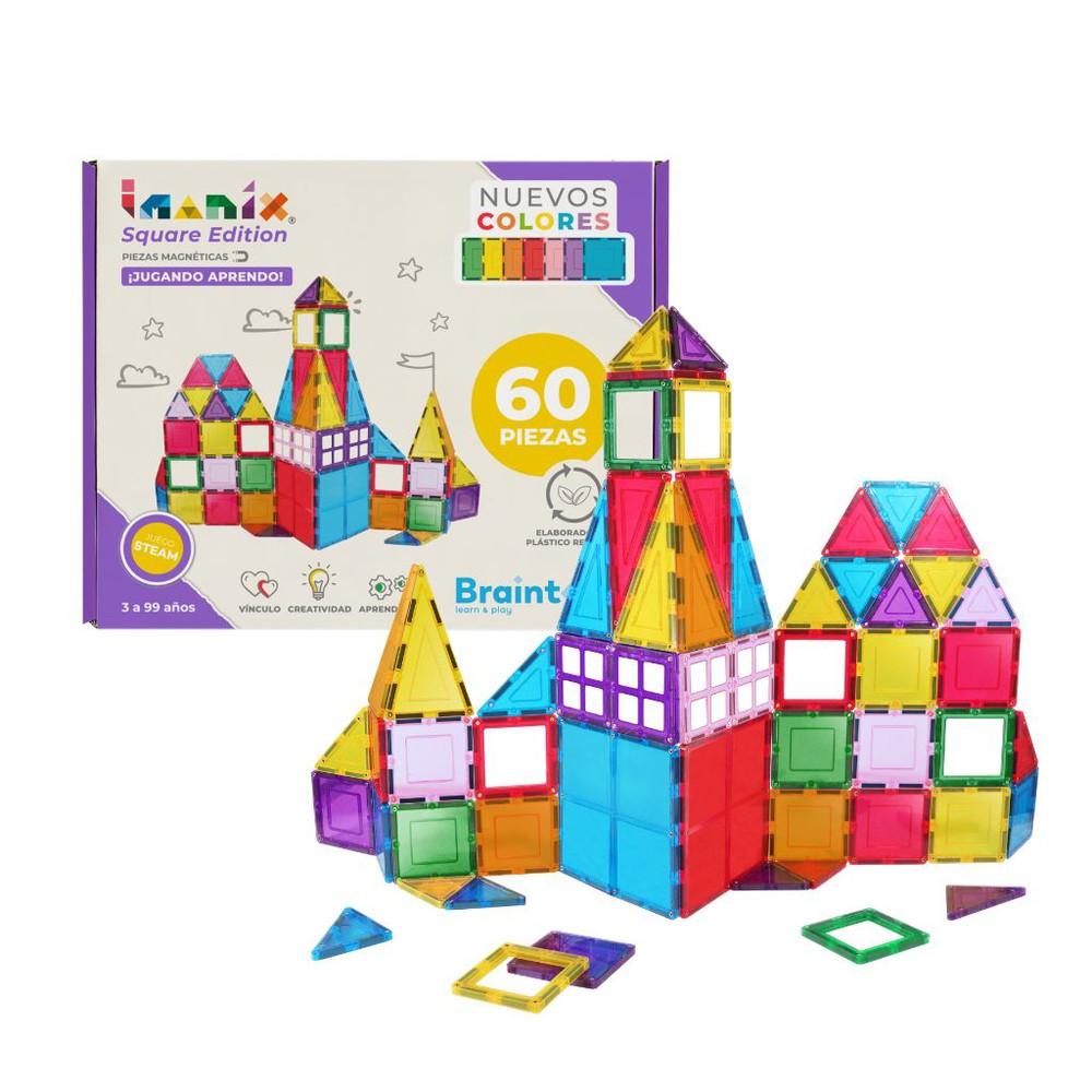 Imanix square edition, 60 piezas