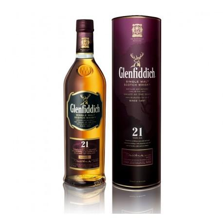 Whisky malta glenfiddich 21 años 40% 750cc